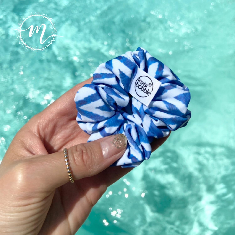 Chouchou invisibobble sprunchie en édition limitée Swim with MI collab bleu Mermaid at Heart