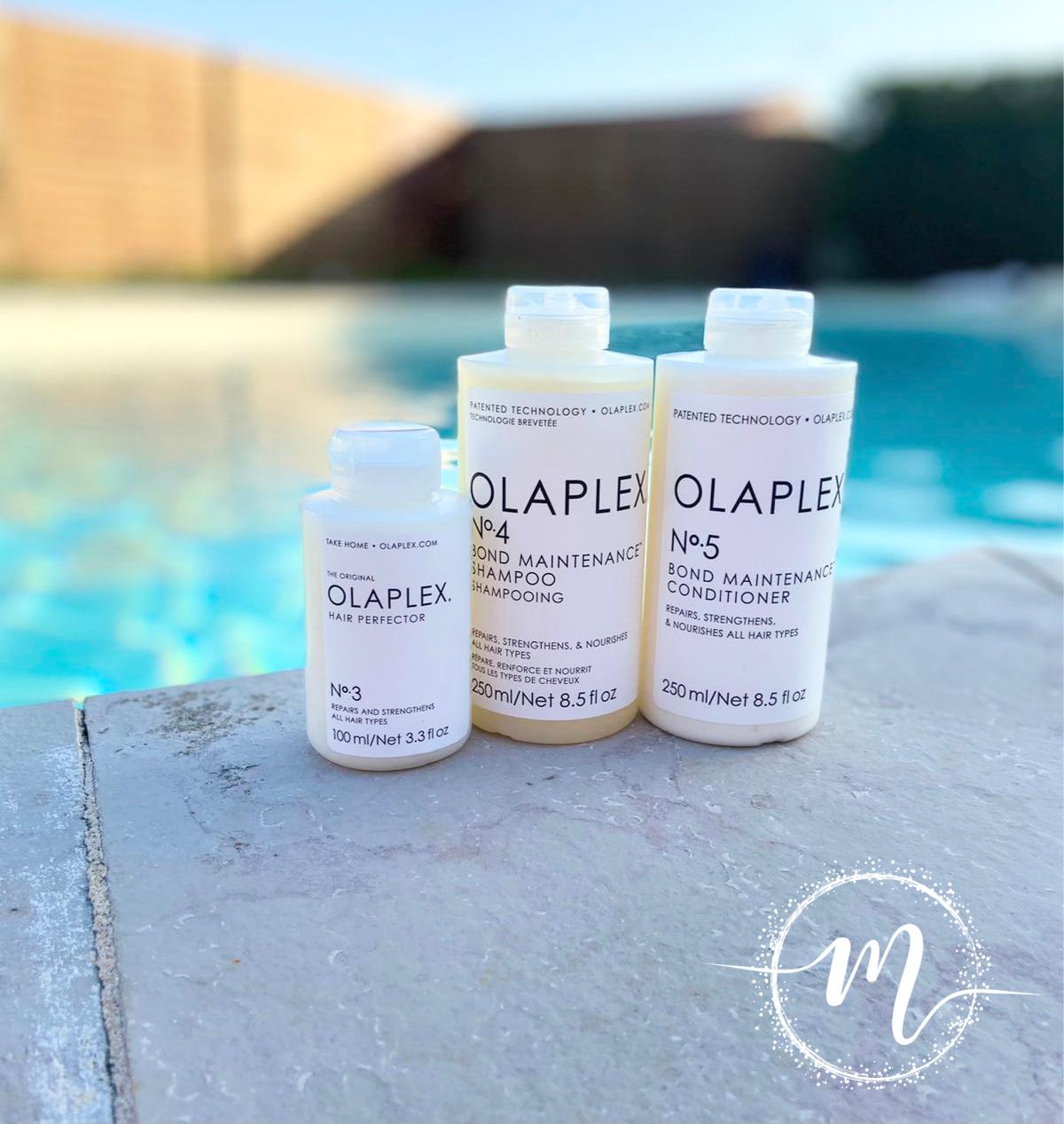 Ma routine de rêve Olaplex N°3, N°4, N°5 / Soin pré-shampooing + Shampooing réparateur + Conditioner