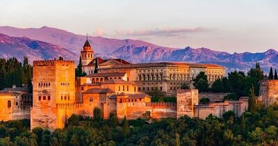Visit to the Alhambra palace