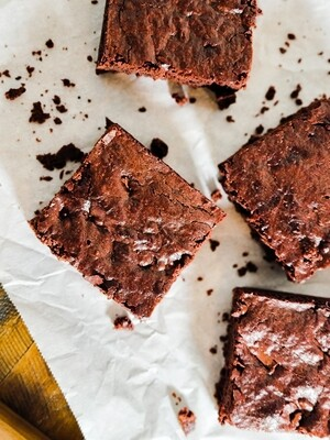 VEGAN Triple Chocolate Brownie