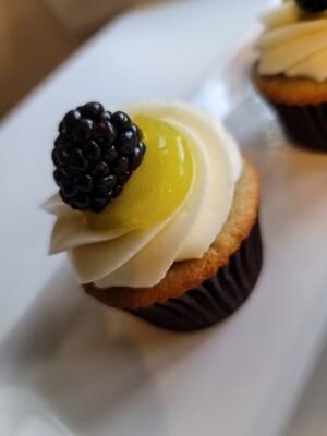 Lemon Blackberry with Cream Cheese Buttercream
