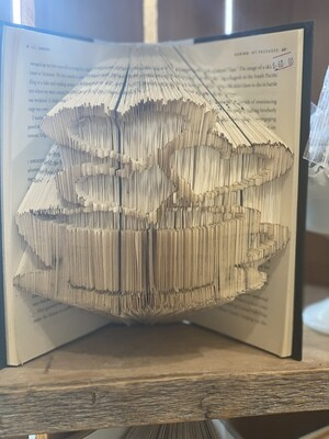 Folded Book Art -