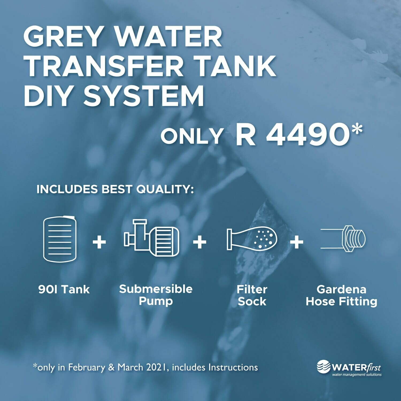 Grey Water Transfer Tank DiY System
