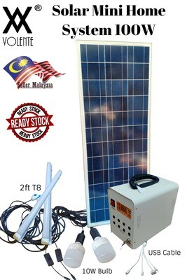 100W Solar Charge Controller/Mini Home Solar Power System/Solar Generator