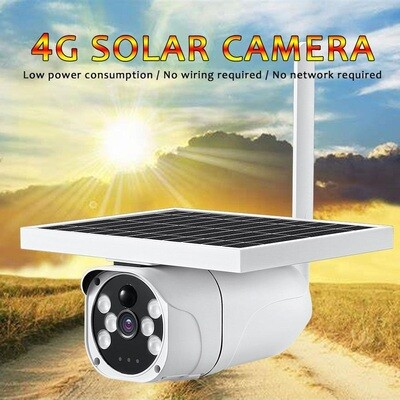 1080P 4G SIM Card PIR Sensor Infrared Light Two-Way Audio CCTV Wireless IP Camera