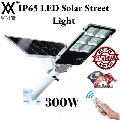 IP65 Outdoor Lighting Waterproof Volente LED Solar Street Light 300W