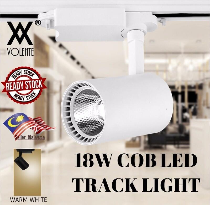 18W Cob Led Track Light COB Track Lights Rail Lighting