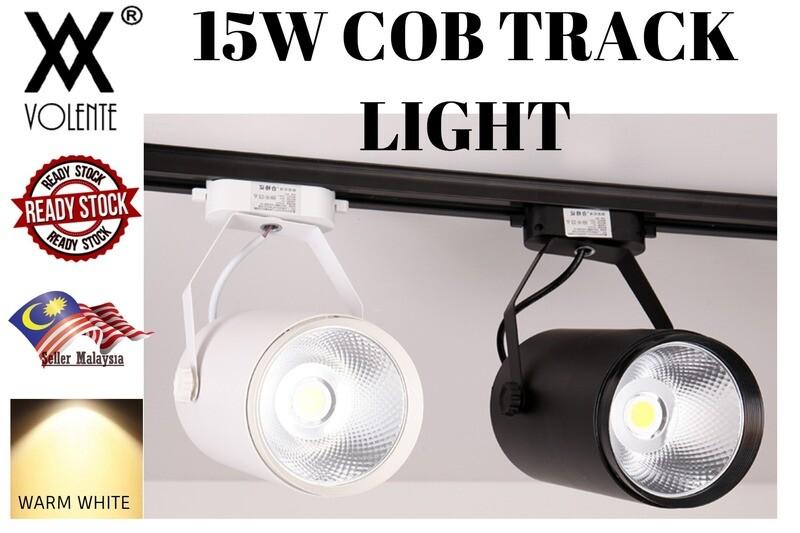 LED SPOTLIGHT COB TRACK LIGHT CLOTHING SHOP BACKGROUND WALL SHOWROOM SPOTLIGHT RAIL LIGHT 15W