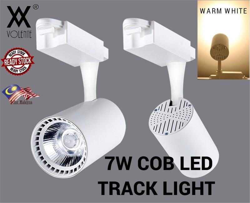 Aluminum Led Track Lights Rail Lighting 7W