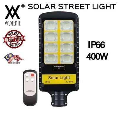 VOLENTE 400W WATERPROOF IP66 LED SOLAR STREET LIGHT OUTDOOR