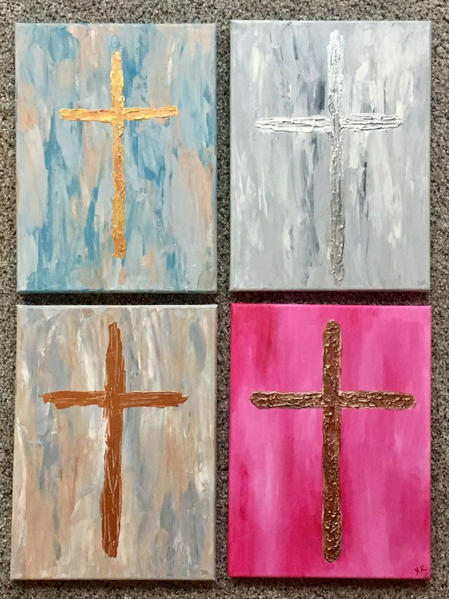 Cross painting