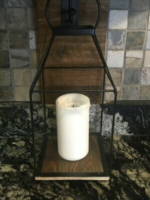 Hanging Candle Holder (wall mounted)