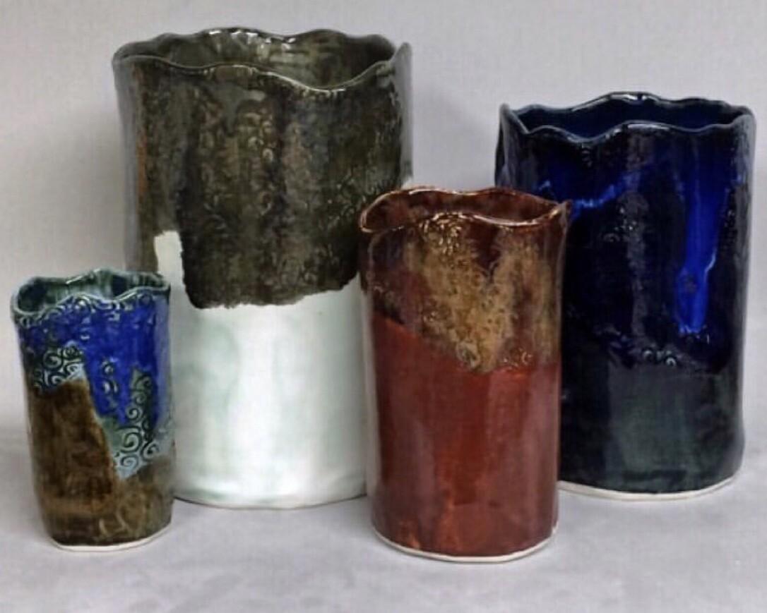 Wine chiller, utensil holder, vase
