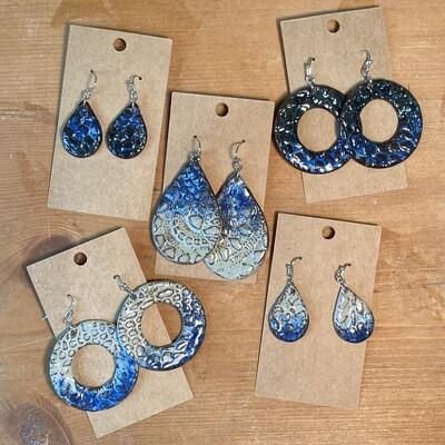 Ceramic earrings
