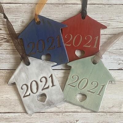 2021 House ornament