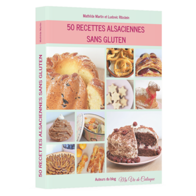 Livre 50 Recettes alsaciennes sans gluten