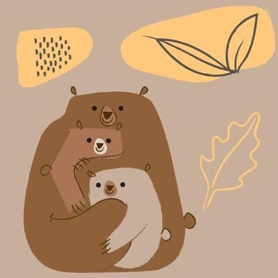 STAMPA - CO•SE - BEAR FAMILY