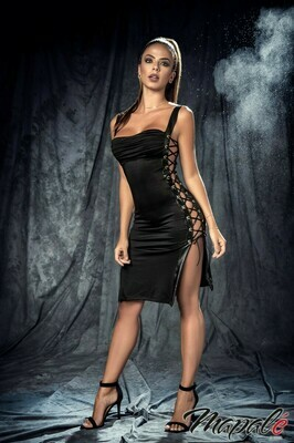 LACE-UP DRESS