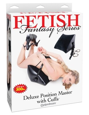 FETISH FANTASY SERIES - DELUXE POSITION MASTER WITH CUFFS