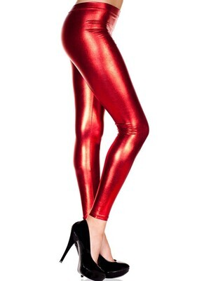 Legging métallique extensible