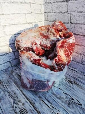 Домашнее мясо - только мякоть, стоимость за 1 кг.