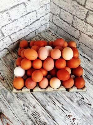 Куриное яйцо, домашнее, стоимость за десяток