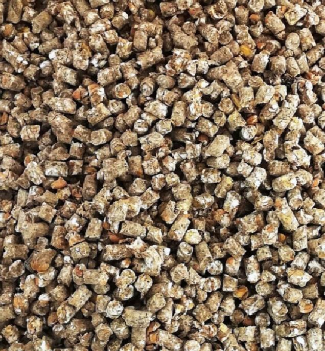 Зерносмесь, гранула 2,5мм., 5 мм. и 10 мм., стоимость за 1 кг.