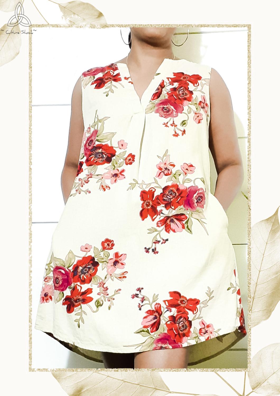 Blossoms Floral Dress