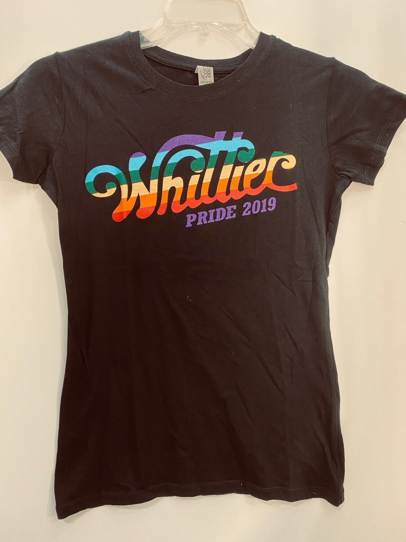 2019 Women's Black T-Shirts (Small)