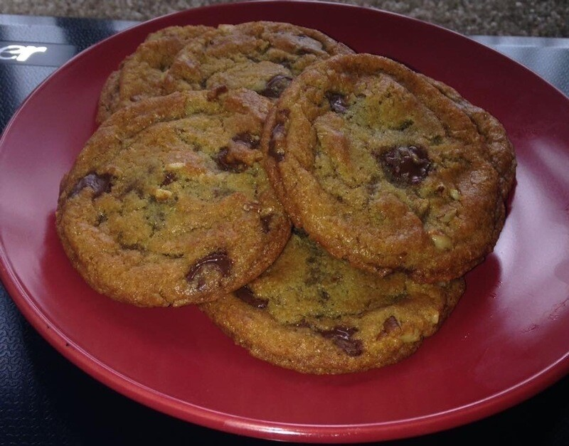 Chipmunk Chocolate Chip Cookies