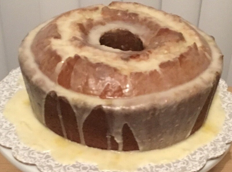 Heavy Hitter(sweet potato pound cake)