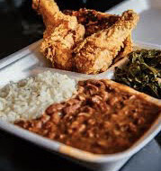 Oven Fried Chicken Plate
