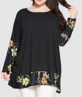 Floral Sleeve Tunic