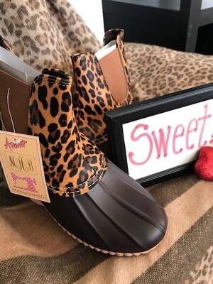 Cheetah/Brown Boots