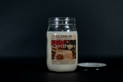 KY Fabled Candle Co Christmas Hearth