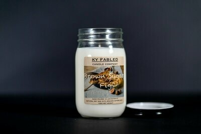 KY Fabled Candle Co Brown Sugar Fig
