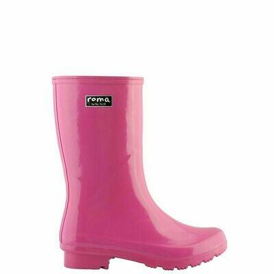 Roma Magenta Rain Boots