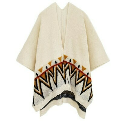 Janice Aztec Wide Sleeve