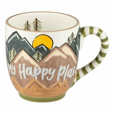 Glory Haus The Mountains My Happy Place Mug