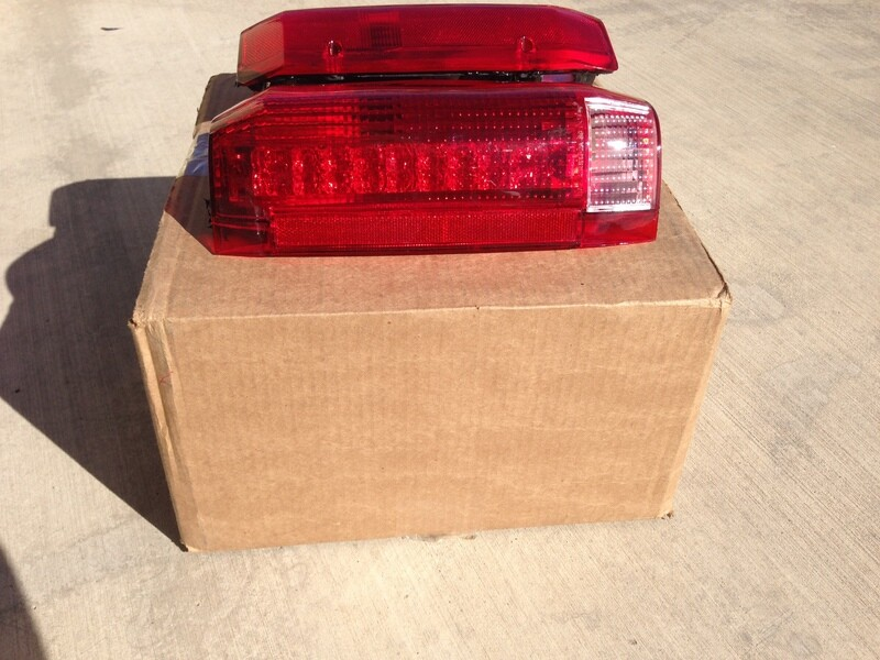 87-97 Ford OBS/Bronco LED Retrofitted Taillights