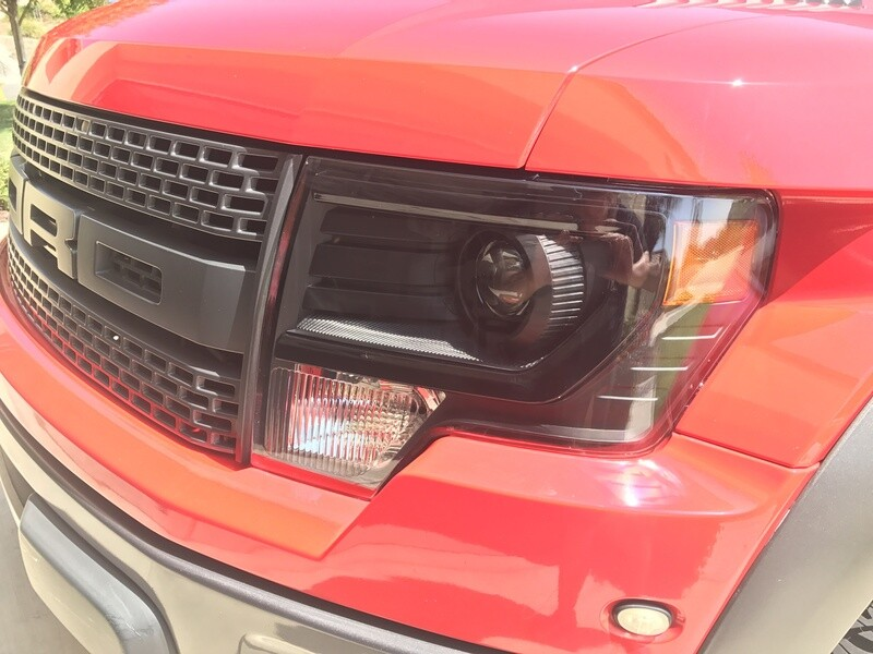 2009-2014 Ford F150/Raptor OEM Projector Style Headlights