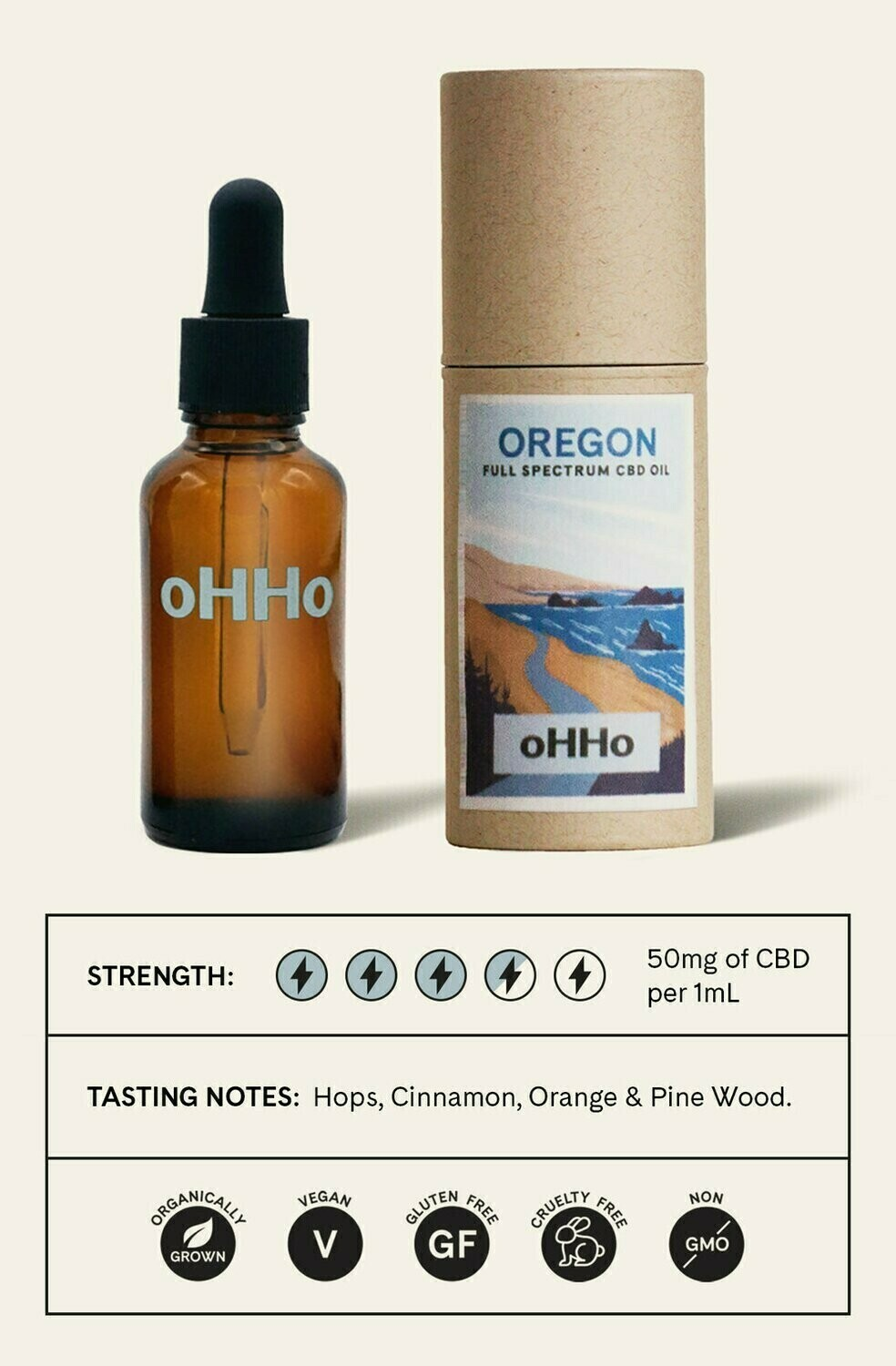 oHHo Oregon Full Spectrum CBD Oil