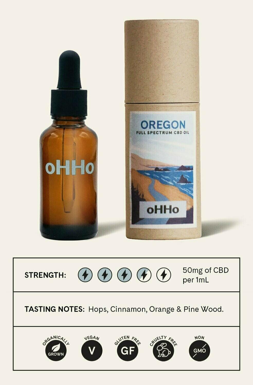 Full Spectrum CBD Oil - oHHo Oregon