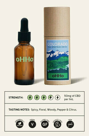 oHHo Colorado Full Spectrum CBD Oil
