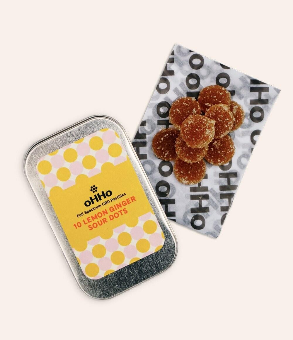 CBDots Tins - Lemon Ginger Sour