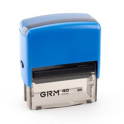 GRM 40 OFFICE COMPACT LINE.Автоматическая оснастка для штампа