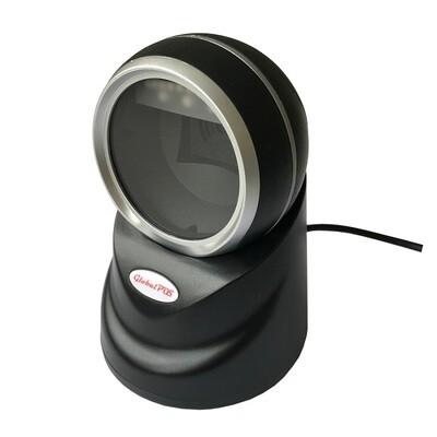 Сканер штрих-кодов GP-9800ST, стационарный 2D сканер, USB, черный