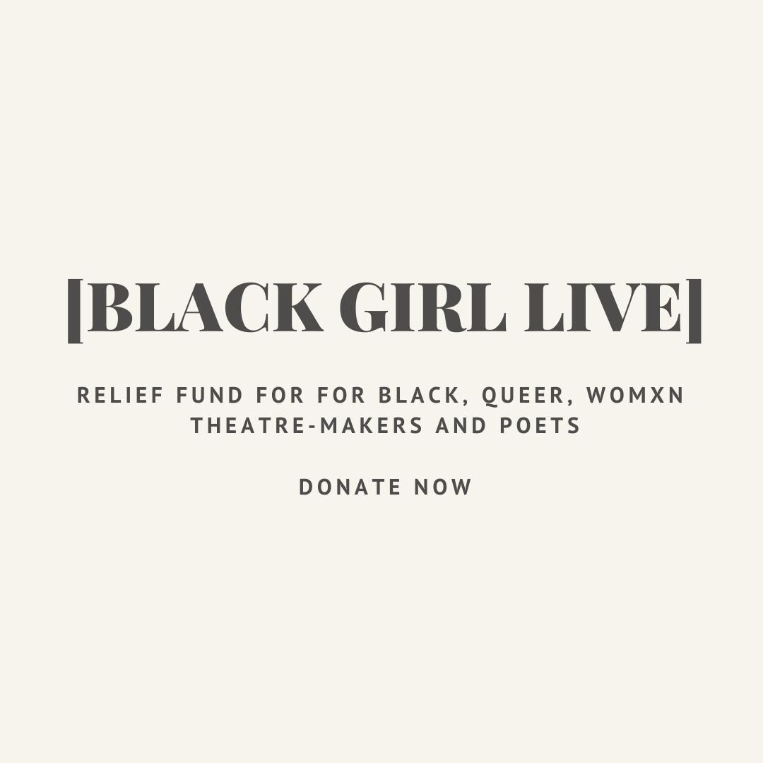 [BLACK GIRL LIVE] FUND