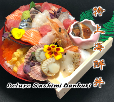 Deluxe Sashimi Donburi
