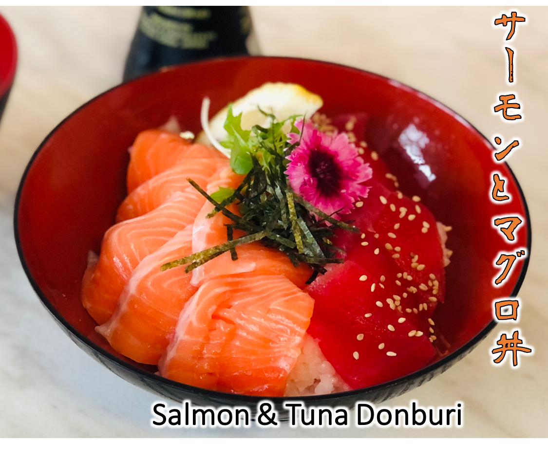 Salmon & Tuna Donburi